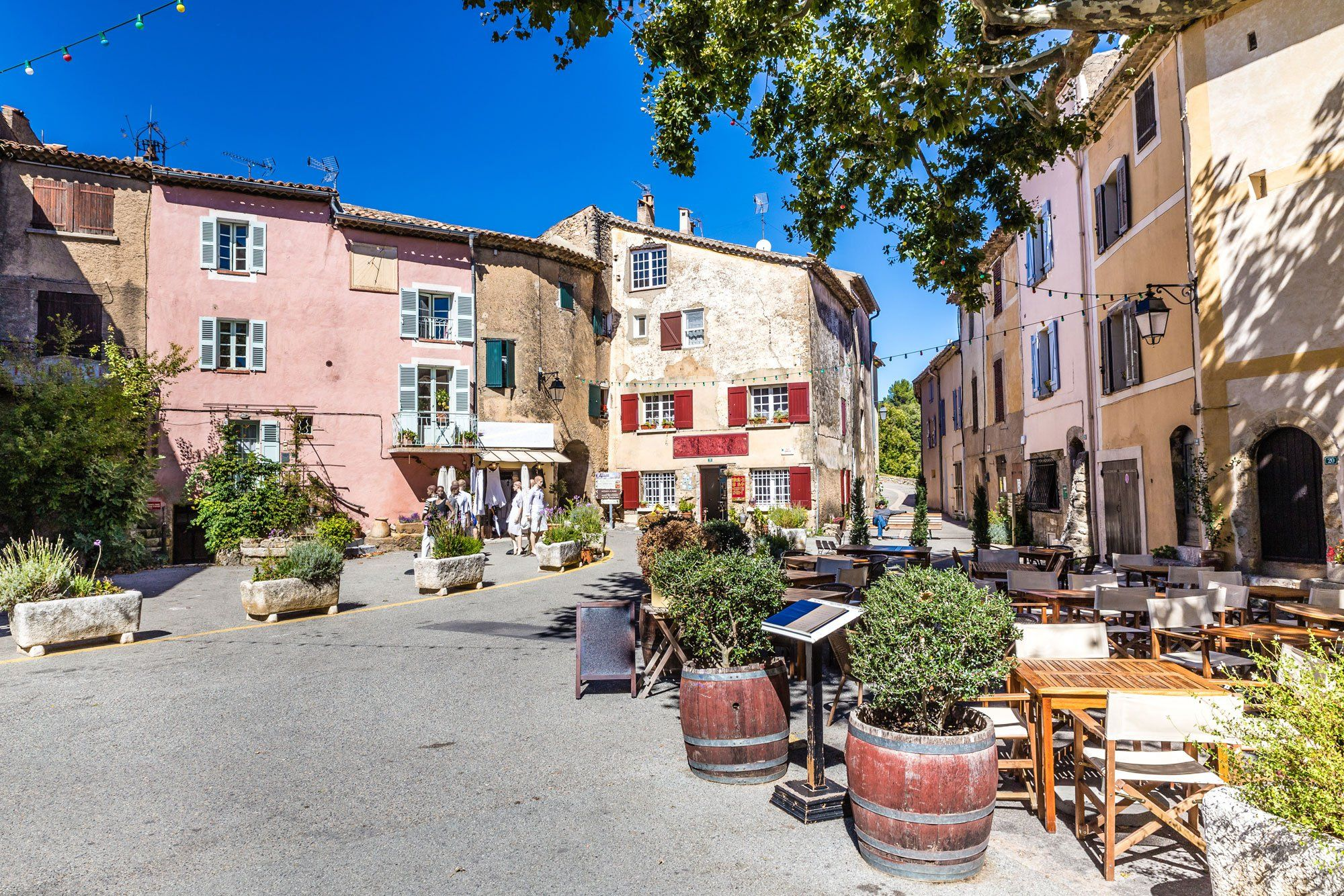 Tourtour in de Provence