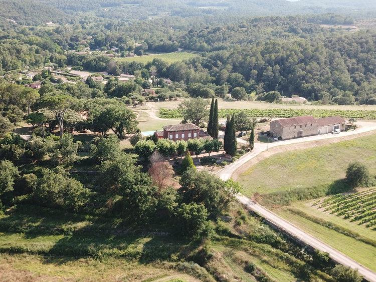 Grand Jas Entrecasteaux, wijn chateau