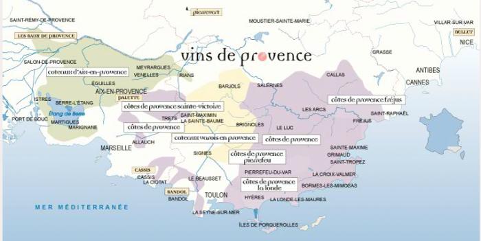 Vins provence