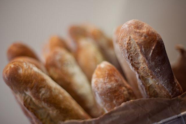 Franse stokbrood-etiquette