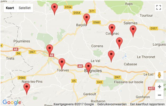 Top 10 kastelen en monumenten Provence Verte