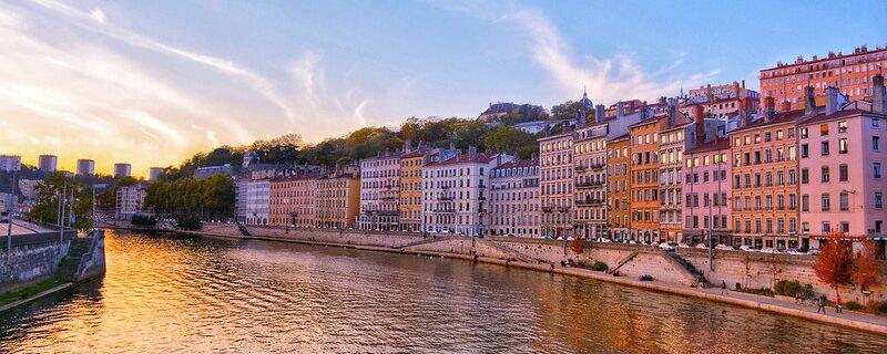 Lyon stad aan de Rhône